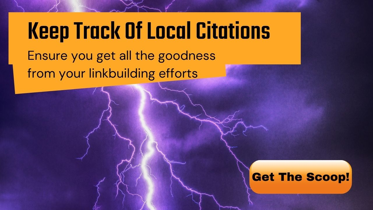 Keep Track of Local Citations